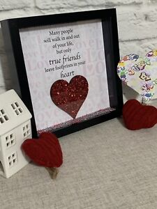 Personalised Friendship Quote Gift Frame