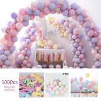 Macaron Candy Pastel Latex Balloon Wedding Party Decor Birthday Decor