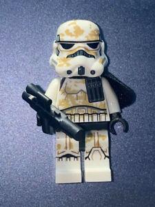 Custom Star Wars Minifigure Tatooine Desert Sand Storm Trooper