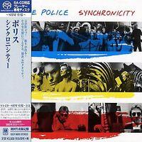 THE POLICE - Synchronicity - Japan Jewel Case - SACD-SHM -UIGY-9605 CD  OOP
