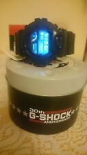 Initial blue/black Casio GShock watch 30th Anniversary limited edition
