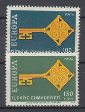 Europa CEPT neuf ** EU TUR 1968 Turquie TG Y&T 1868 à 1869