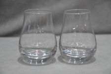 Pair Of (2) Glenfiddich Spey Dram Nosing Glasses Whisky Glass Tumbler Two 10cl