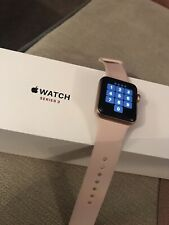 Apple Watch Series 3 Rose Gold GPS 38mm Bundle 15 Straps Inc  Pink Sand & Charge