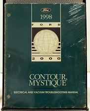 OEM 1998 Ford Contour Mercury Mystique Electrical & Vacuum Troubleshooting Man