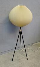 50s TRIPOD PLISSEE LAMPE SCOUBIDOU 50er Sputnik,stilnovo 60er noguchi akari stil