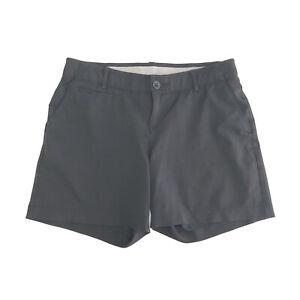 "Under Armour Black Golf Shorts UA Links 4"" Shorty EUC Women's Size 4"
