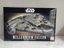 Star Wars Plastic Model Kit 1/144 Millennium Falcon Bandai Japan