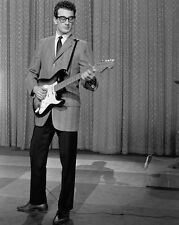 American Singer BUDDY HOLLY Glossy 8x10 Photo Musical Print The Crickets Poster