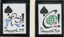 Denmark Sc 998-999 1994 Conservation stamp set mint NH