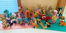 Dakin Dream Pets Lot Vtg Japan 26 Stuffed Animals Felt Straw Sawdust