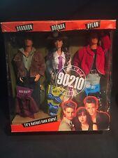 NIB Mattel Vintage Beverly Hills 90210 Gift set Brandon, Brenda & Dylan