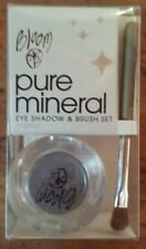 BLOOM PURE MINERAL EYE SHADOW & BRUSH SET CRYSTAL