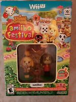 Animal Crossing: Amiibo Festival Nintendo Wii U NO CARDS