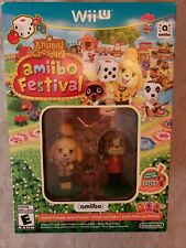 Animal Crossing: Amiibo Festival Nintendo Wii U NO CARDS