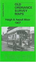 Old Ordnance Survey Map Haigh & Aspull Moor 1907 - Lancashire 86.13