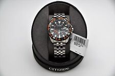 New Citizen Eco-Drive Compass Stainless Steel Men's Watch AW7048-51E