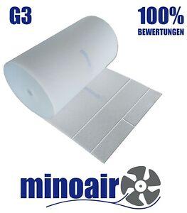 G3/EU3 Filtermatte 1 x 3m 17-20mm FL200 Filterrolle Filtervlies Luftfiltermatte