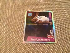 #110 GB Martyn Bernard Team Athletics Panini Pegatina de los Juegos Olímpicos de Londres 2012