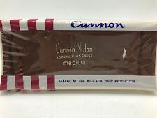Vintage Cannon Nylon Stockings Sandalwood Tan Sz 9 Medium NOS