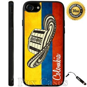 Case For iPhone 6S 7 Plus Samsung Galaxy S7 S8 Plus-Colombian Vueltiao Hat