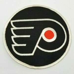 "Vintage 1980's NHL Philadelphia FLYER 5"" Embroidered Patch on Twill  Orig"