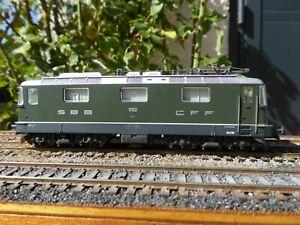 Locomotive électrique du réseau SBB CFF FFS de type Re 4/4 11152 de Lima ref 20