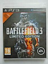 Battlefield 3 Limited Edition (Sony PlayStation 3 2011) PS3 Complete with Manual