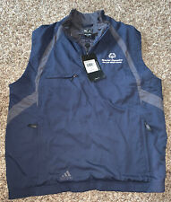 Adidas Claims proof Large Special Olympics  Half Zip Vest Retail $75