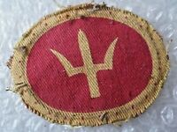 Patch- VINTAGE 44th Infantry Division Formation Sign Cloth Badge (Used)