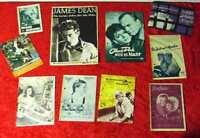 10 Programmhefte zu verschiedenen Kinofilmen u.a, James Dean Hildegard Knef...