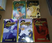 X5 Dragon Hunter Volumes 3-5-6-7-8 Manga TokyoCorp Hong Seock Seo Teen 13+