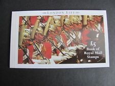QEII, GB PRESTIGE BOOKLET 1990 LONDON LIFE, DX11. Mint