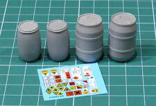 E-039 – Plastic Chemical Storage Drums Set#1 , Eureka XXL, 1/35