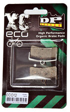 DP BRAKES XC Eco Bicycle Organic Brake Pads EC012 HOPE Mono M4,SRAM 9, SHIMANO