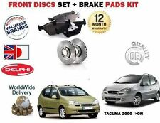 Para Chevrolet Daewoo Tacuma 2000 -- > Front Discos De Freno Set + Almohadillas De Disco Kit