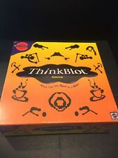 2393) New Mattel Thinkblot Game Makers of Pictionary Psychology Rorschach Mind