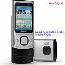 100% Genuine Nokia 6700 slide 6700S 5MP GSM 3G Unlocked Mobile Phone - Silver