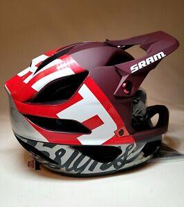 Troy Lee Designs STAGE Nova SRAM Mips Helmet XS/S  Burgundy