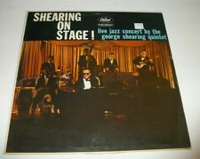 GEORGE SHEARING ON STAGE T-1187 LP VINYL RECORD