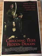 Crouching Tiger Hidden Dragon Movie Poster Pin-Up Ang Lee Chow Yun Fat Yeoh Chen