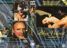 BLUE VELVET - David Lynch - VHS - PAL - NEW - Never played! -Original Oz release