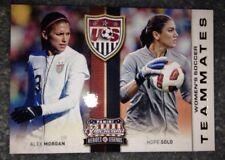 2012 Americana USA Women's Soccer Teammates Team Set (11) Hope Solo Alex Morgan