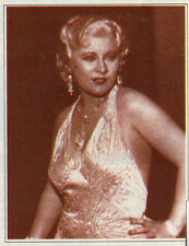 """tv article ~ MAE WEST in her first film """"Night After Night"""" Hollywood Sex Symbol"""