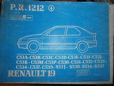 Renault 19 R19 hayon 3P : catalogue pièces PR1212-4