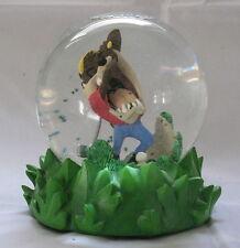 Goebel Taz Snow Globe Looney Tunes Classic Collection Tee'D Off