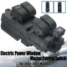 Electric Power Window Master Control Front Left Switch For 2003-2005 Mazda 6