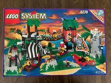 LEGO Enchanted Island - Vintage Pirates Islanders (6278) 100% Complete Box 1994