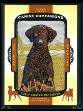 2017 Upper Deck Goodwin Champions Canine Companions Curly-Coated Retriever Cc13