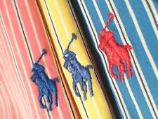 Lot of 3 Ralph Lauren Men's Polo Shirts Size Large Button Up S/S Top w/ Pony